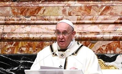 HOY / Papa dice que el 2021 será un buen año si las personas cuidan de los otros
