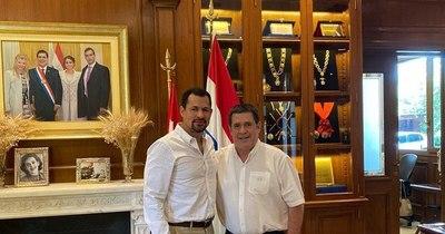 La Nación / Ulises Quintana mantuvo un encuentro con Cartes con miras a las municipales