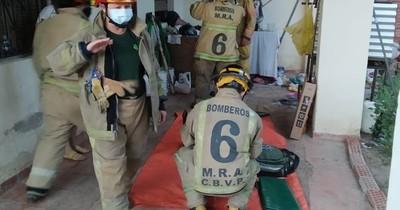 La Nación / Reporte de Fin de Año: incendio, accidentes y una persona atascada en su ventana