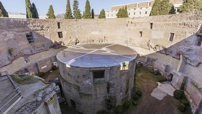 Culmina la restauración del mausoleo de Augusto en Roma