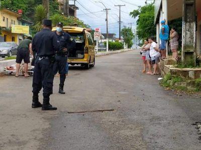 Aclaran que el hombre fallecido en Villarrica cayó al cruzar un muro y descartan que fue atropellado
