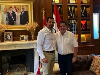 Ulises Quintana y Horacio Cartes, cada vez más cerca de cerrar pacto