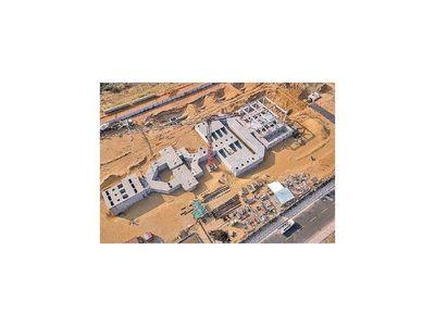 Prosiguen obras de grandes plantas de tratamiento de agua