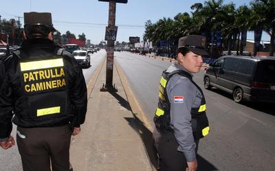 Caminera intensificará operativo para brindar seguridad al retorno de las familias