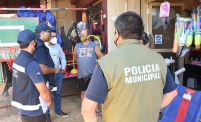 HOY / Tributación y municipalidad fiscalizan puestos de venta en Eusebio Ayala