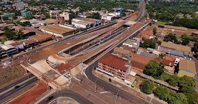 La Nación / Multiviaducto de CDE llegó al 86% de avance en obras al finalizar el 2020