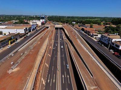 Obras del Multiviaducto de CDE con 86% de avance