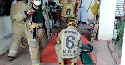 La Nación / Hubo incendio, heridos y una persona atascada