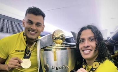 HOY / Dos paraguayos se destacan en el campeón Barcelona de Guayaquil