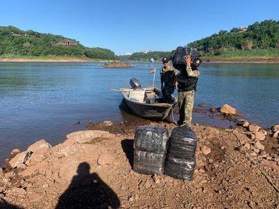 Interceptan mercaderías de contrabando ingresadas desde Argentina