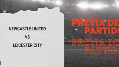 Por la Fecha 17 se enfrentarán Newcastle United y Leicester City