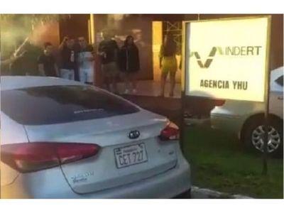 Indert pide que se investigue festejo en sede de Caaguazú