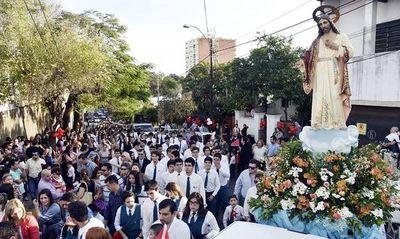 """""""Por falta de personal"""" se reparten la parroquia del Sagrado Corazón de Jesús"""