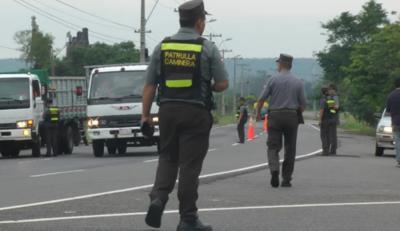 Caminera intensificará controles para brindar seguridad al retorno de las familias
