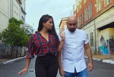 Jessi Franco en el último video clip de 'La Kumbita'