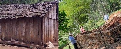 """Crónica / """"Nenes del bosque"""" ya tendrán una casa digna"""