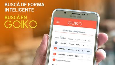 Para el 2021 Goiko diversificará su gama de productos financieros (desde créditos hipotecarios hasta CDA)
