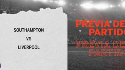 Liverpool enfrenta a Southampton buscando seguir en la cima de la tabla