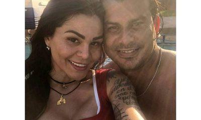 Mientas Helem Roux se relaja en Río, Walter Fretes piletea con Gloria Jara