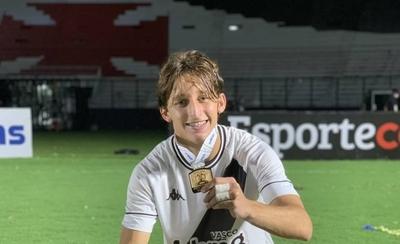 HOY / Galarza levanta la Copa do Brasil Sub 20 con el Vasco
