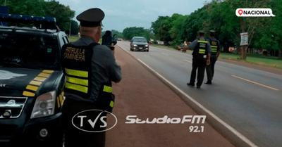 Operativo fin de año: Patrulla Caminera registró tránsito intenso de retorno