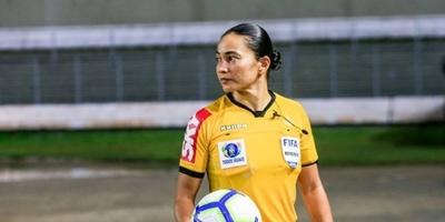 HOY / La brasileña Edina Alves Batista, entre los siete árbitros seleccionados para el Mundial de Clubes