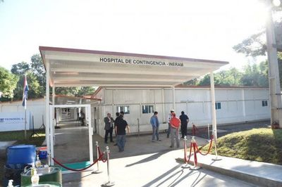 Situación de los hospitales en Central: ocupación total de camas de terapia · Radio Monumental 1080 AM