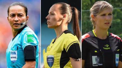 Histórica designación de terna femenina para el Mundial de Clubes