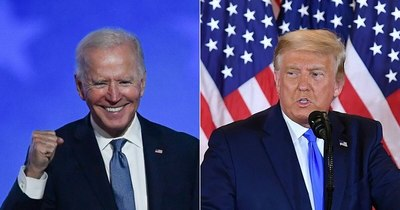 La Nación / Biden y Trump viajan a Georgia en la víspera de unas elecciones decisivas