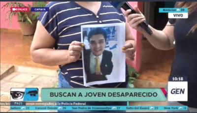 HOY / Joven de 21 años de edad de la ciudad de Capiatá, se encuentra desparecido desde el 1 de enero
