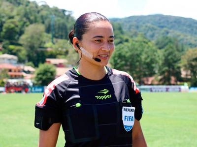 La brasileña Edina Alves Batista arbitrará en el Mundial de Clubes
