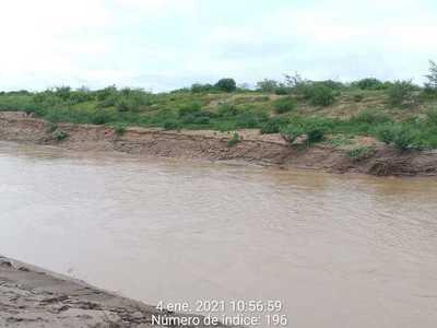 Buen caudal del Pilcomayo permite que sus aguas lleguen hasta General Díaz