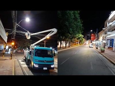 ANDE IMPLEMENTA LUCES LED EN ALUMBRADOS PÚBLICOS DE ENCARNACIÓN