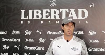 Garnero fue presentado como nuevo entrenador de Libertad