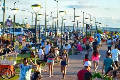 Destacan concurrencia a playas, hoteles y restaurantes de Encarnación
