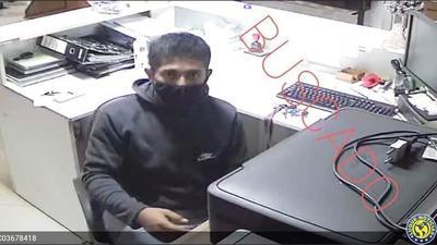 Ladrón roba G. 6 millones de mueblería luqueña •