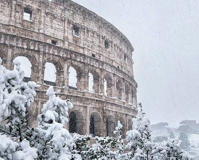 Un temporal de nieve azota Europa deja dos fallecidos