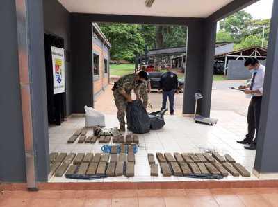 Incautan drogas en Canindeyu