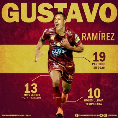 Tolima se refuerza con uno de los máximos goleadores paraguayos de México