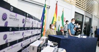 La Nación / Vacuna de AstraZeneca llegará a Bolivia a fines de marzo