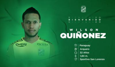 HOY / Wilson Quiñónez será arquero de Oriente Petrolero