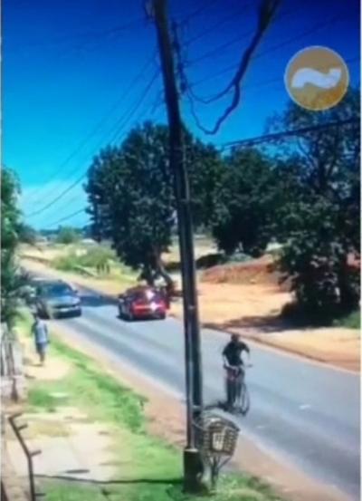 Detienen a Richard'i, autor identificado del robo de una bicicleta en la Costanera y del asalto a taxista en Artigas