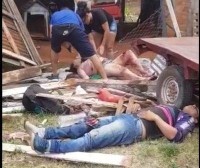 (Video) Enfermero manejó borracho y mató a niña de 3 años e hirió a tres personas más