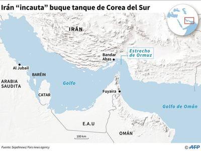 Guardianes de la Revolución iraní capturan buque coreano