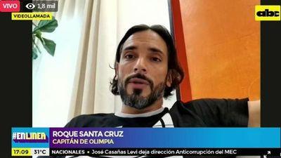 Roque Santa Cruz, En Línea con ABC TV