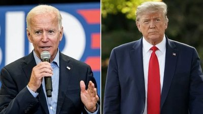 Trump y Biden hicieron campaña en Georgia en la víspera de la crucial elección al Senado