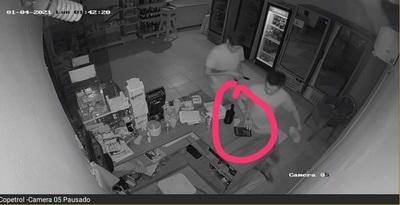 Asaltantes robaron en una estación de servicio en Capiatá