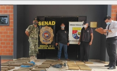 HOY / Hallan abandonada carga de marihuana prensada en Canindeyú