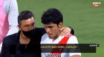 """""""Rompele el tobillo"""": Revelan lo que le dijo Gallardo a Rojas"""