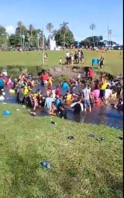 Imputan a propietario de balneario por violación de medidas sanitarias durante de Paso Itá